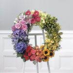 Somewhere over the Rainbow Wreath
