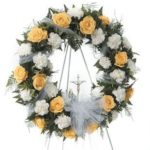 Continuum Wreath on Easel