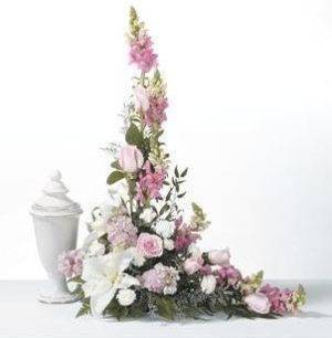 Cremation Urn Arrangement