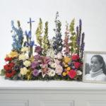 Floral Garden Border Memorial