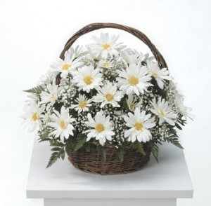 Grandmother's Garden Table Basket