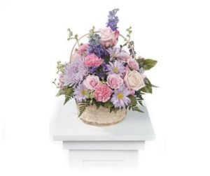 Monet's Garden Table Basket